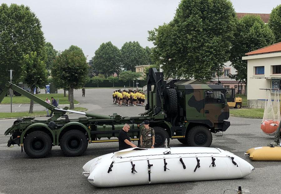 مخازن چلیک در صنایع نظامی