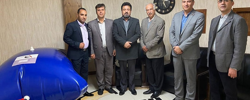 جلسه مشترک با مسئولین شرکت زاگرس در ارتباط با مخازن منعطف