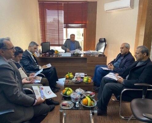 جلسه با مسئولین محترم ستاد بحران آب وفاضلاب روستایی